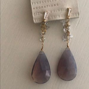 BRAND NEW Anthropologie Waterfall Drop Earrings